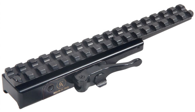 0 MOA Contessa Steel Picatinny Rail for Browning X Bolt Short Extended Mount